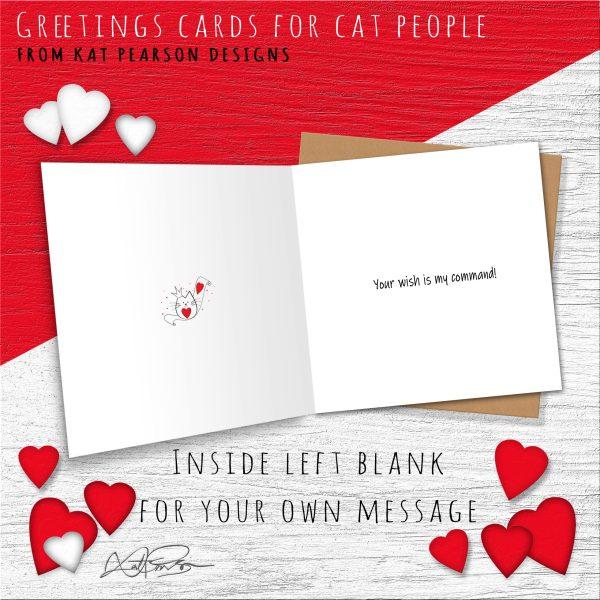 CAT QUEEN CARD