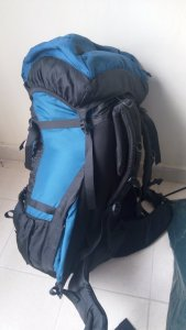 80 L Hiking, Camping, Traveling Backpack_Rucksack
