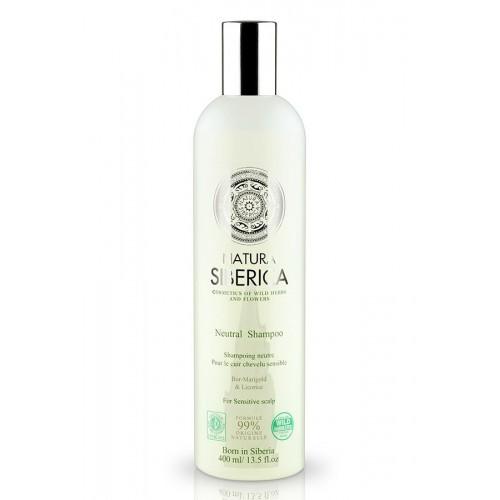 Sampon neutru pentru scalp sensibil 400 ml Natura Siberica