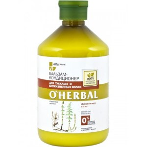 Balsam luminozitate pentru par tern si devitalizat, 500ml, O'Herbal