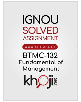 BTMC-132 Solved Assignment For IGNOU BA Tourism Management