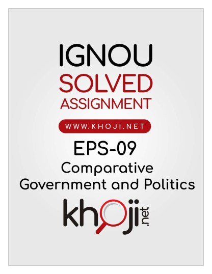 EPS-09-Solved-Assignment-English-Medium-IGNOU-BDP