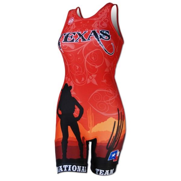 2013 Texas National Team Women's Singlet For Sale