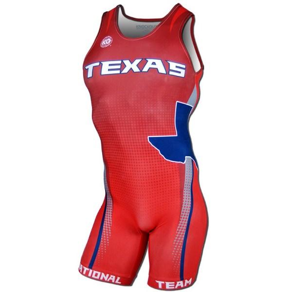 2016 Texas National Team Men's Singlet For Sale