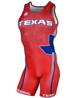 2016 Texas National Team Men's Singlet For Sale