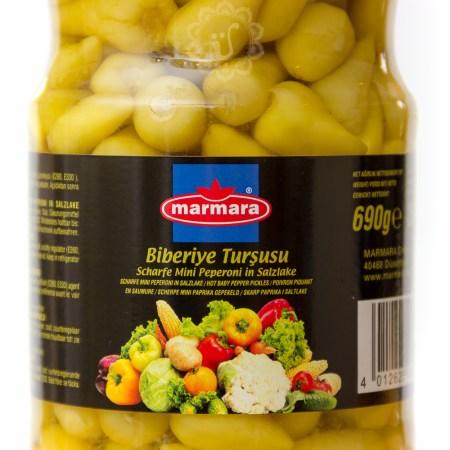 MARMARA - Scharfe Mini-Peperoni groß - biberiye turşusu