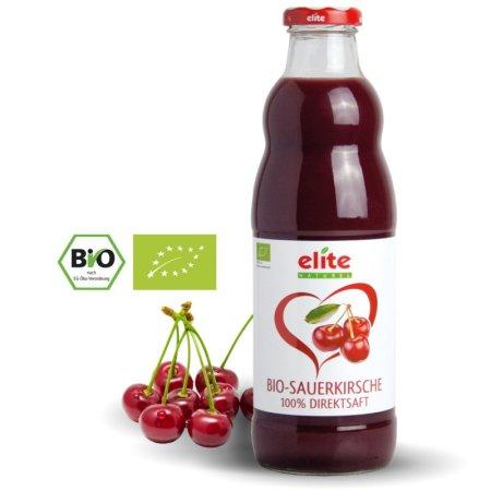 ELITE NATUREL - Sauerkirsche Bio-Direktsaft - vişne suyu