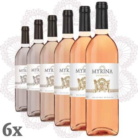 Kavaklıdere Myrina Rosé 6er-Pack
