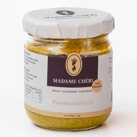 MADAME CHÊRI ~ Pistazien-Créme (80% Pistazien)