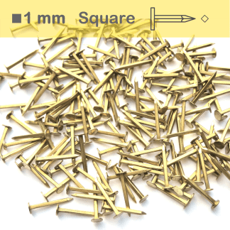 Square shank brass tacks - slim calzera
