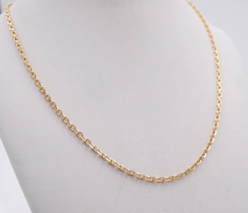 chaine forcat en or 18 carats 1 4 mm d