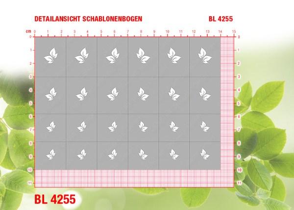 BL4255 Klebeschablonen
