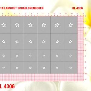 BL4306 Klebeschablonen