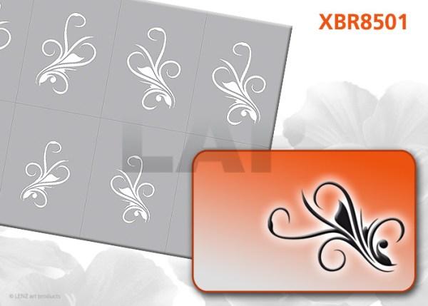 XBR8501 Klebeschablonen