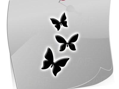 Klebeschablone Airbrushnails BF3520