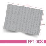 Nailart Airbrush Schablone, Effektlinie, selbstklebend, FFT008 – Bogenansicht