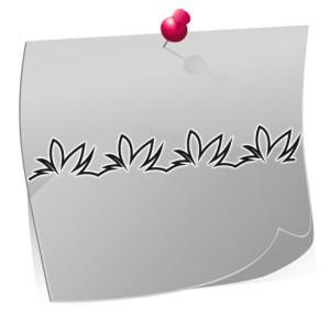 Nailart Airbrush Schablone, Effektlinie, selbstklebend, FFT006