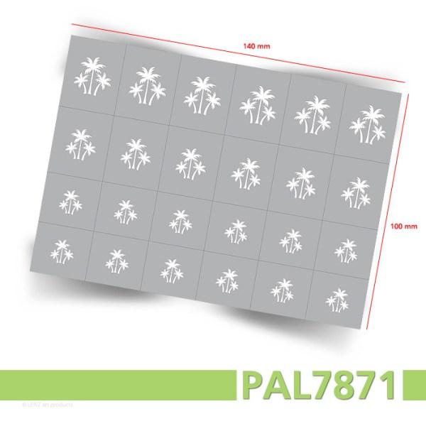 PAL7871 Nailart Airbrush Schablonen