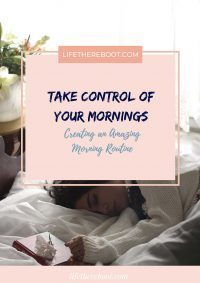 Take Control of Your Mornings
