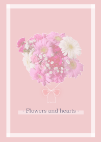 Flowers and hearts --24--