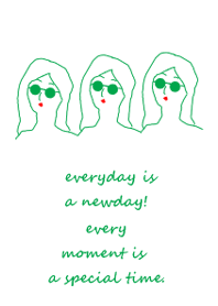 everyday is a newday (green)