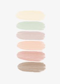 カラーパレット *薄い色たち