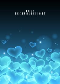 OCEAN BLUE HEART