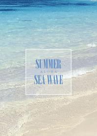 SUMMER BLUE SEA WAVE 5 -HAWAII-