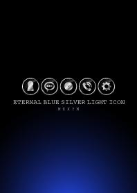 SILVER LIGHT ICON THEME -Eternal Blue-