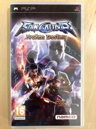 Soul Calibur : Broken Destiny / PSP
