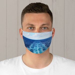 In the Wake Fabric Face Mask
