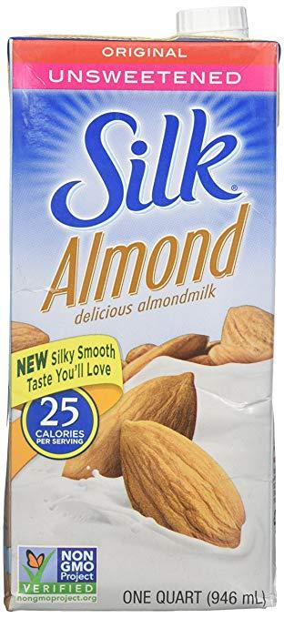 Chocolate Silk Milk Unsweetened Almond