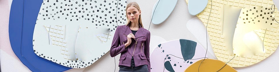 Lizology featured purple jacket