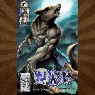 Night Wolf 2 Cover B