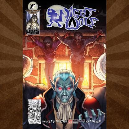 Night Wolf 3 Cover C