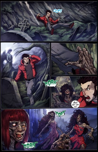 Night Wolf Issue 1 Page 2