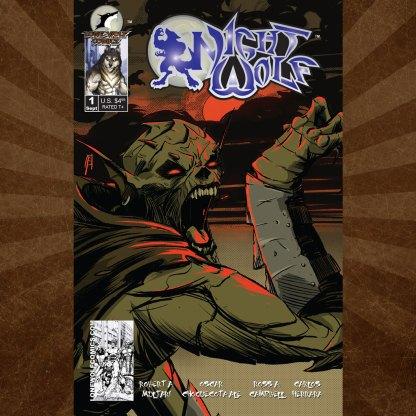 Night Wolf 1 Joseph Schmalke Cover