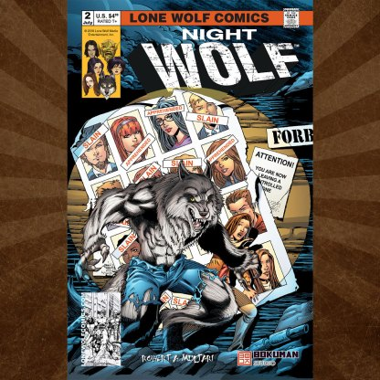 Night Wolf Issue 2 Sean Forney Cover