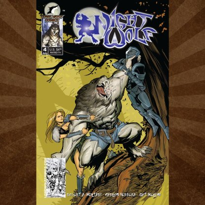 Night Wolf Issue 4 Conor Hughes Cover