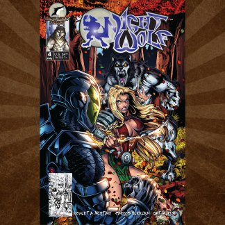 Night Wolf Issue 4 Chris Williams Cover