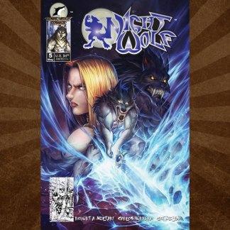 Night Wolf Issue 5 Carlos Herrera Cover