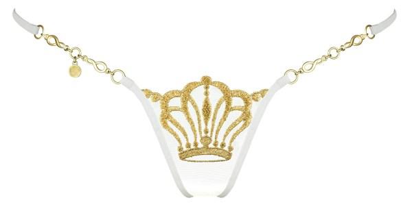 Queen of Love Ivory Edition Luxus G-String online kaufen