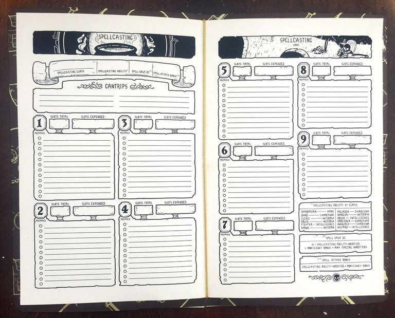 Character Book 5e