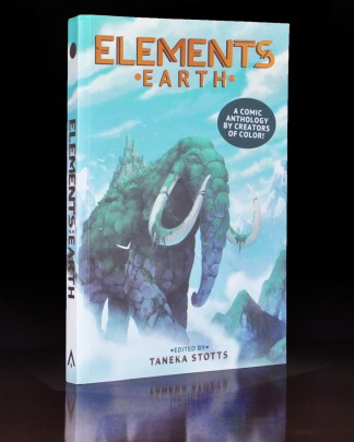 Photo of the book Elements: Earth, a comics anthology