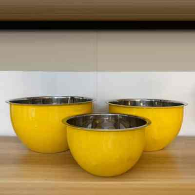 Stainless Steel Mixing Bowls Set of 3 pcs
