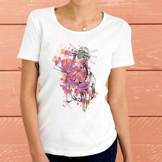 """""""Гейша"""" - Дамска тениска"""