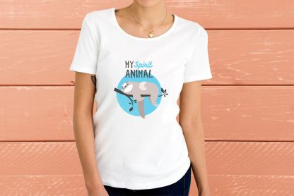 """My Spirit Animal"" - Дамска тениска"