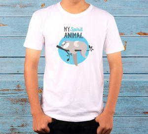 """My Spirit Animal"" - Мъжка тениска"