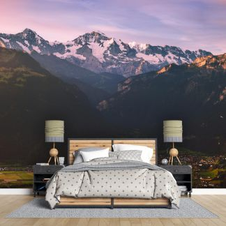 Алпите - Фототапет - Макет в спалня