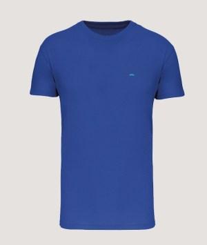 T-shirt BIO150 col rond homme - Light royal blue